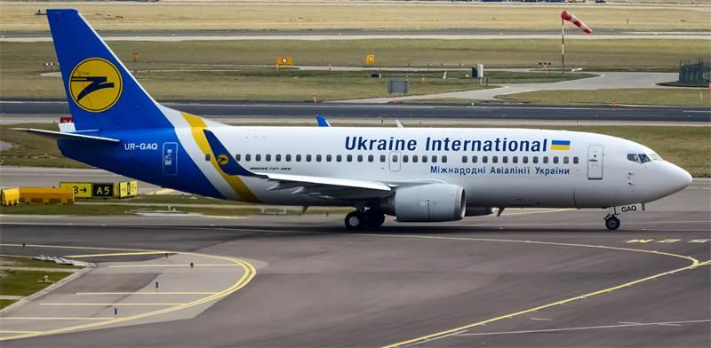 מטוס של אוקראיין אינטרנשיונל / צילום: שאטרסטוק