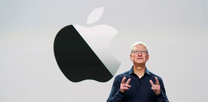 טים קוק בשידור חי בכנס המפתחים של אפל 2020 / צילום: Brooks Kraft/Apple Inc, רויטרס
