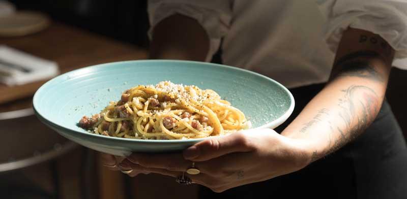 הקרבונרה של מסעדת קלאטה / צילום: דניאל לילה