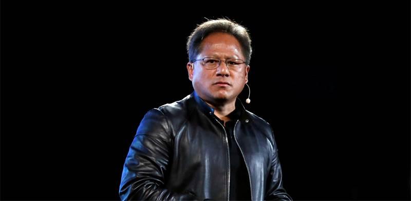 """מייסד ומנכ""""ל אנבידיה, ג'נסן הואנג / צילום: Tyrone Siu, רויטרס"""