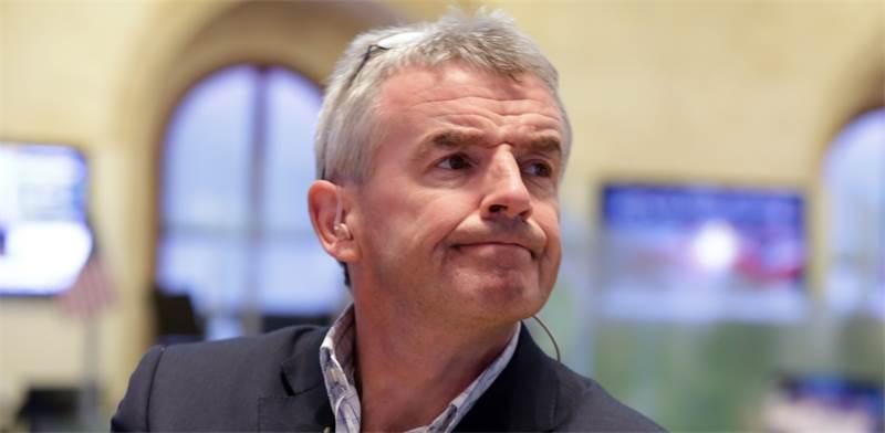 """מייקל או'לירי, מנכ""""ל ריאנאייר / צילום: Richard Drew, Associated Press"""