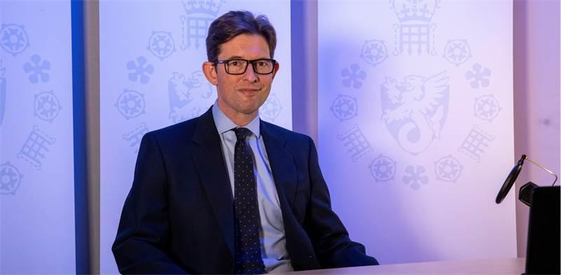 ראש ה-MI5 הבריטי, קן מק'אלום / צילום: רויטרס