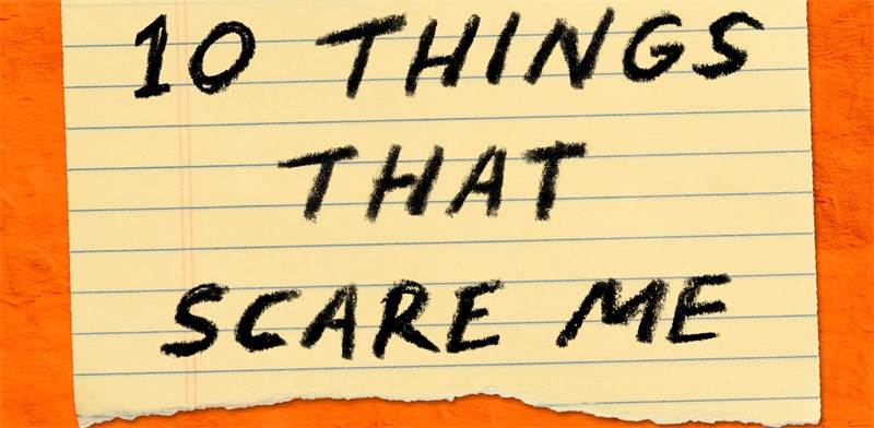 "Ten Things that scare me / צילום: WNYC Studios, יח""צ"