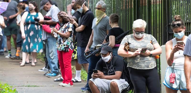 התפשטות הקורונה בגאורגיה / צילום: AP
