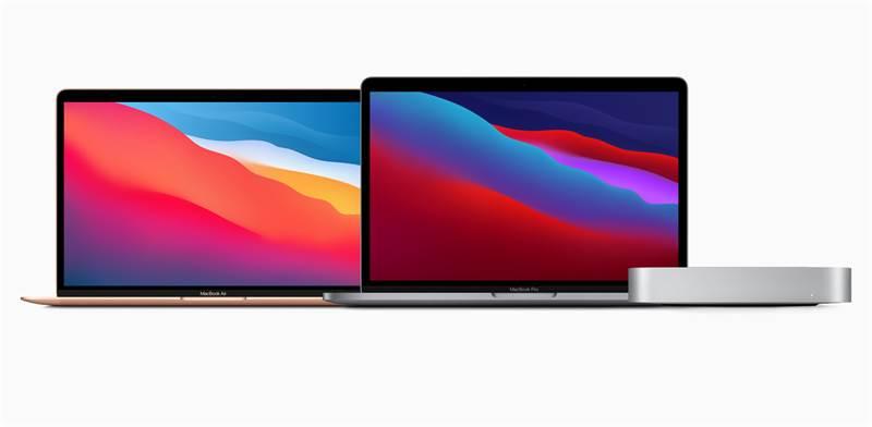 """המחשבים החדשים של אפל / צילום: אפל, יח""""צ"""