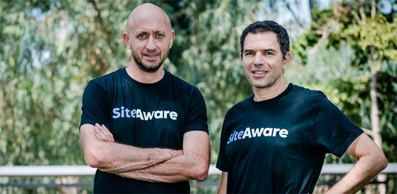 מייסדי SiteAware, אורי אפק (CTO) וזאב בראודה (CEO) / צילום: נתי גולד