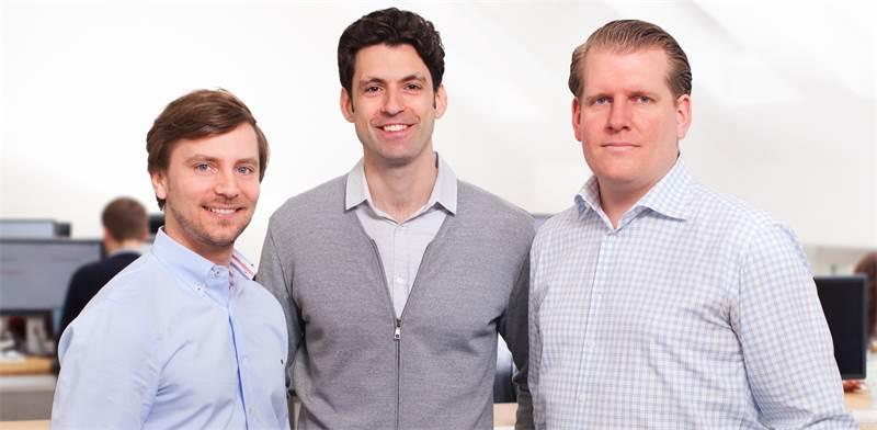 Kobi Eldar, Stefan Jeschonnek and Dr. Jan Deepen.  / Photo: Zeitgold