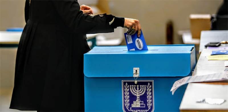 מצביעים בבחירות לכנסת ה-23 / צילום: שלומי יוסף, גלובס