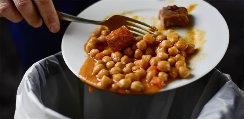 זורקים מזון לפח / צילום: שאטרסטוק