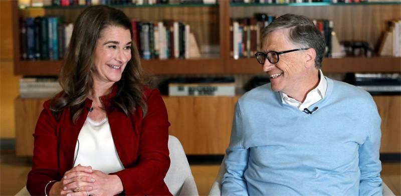 ביל ומלינדה גייטס / צילום: Elaine Thompson, AP