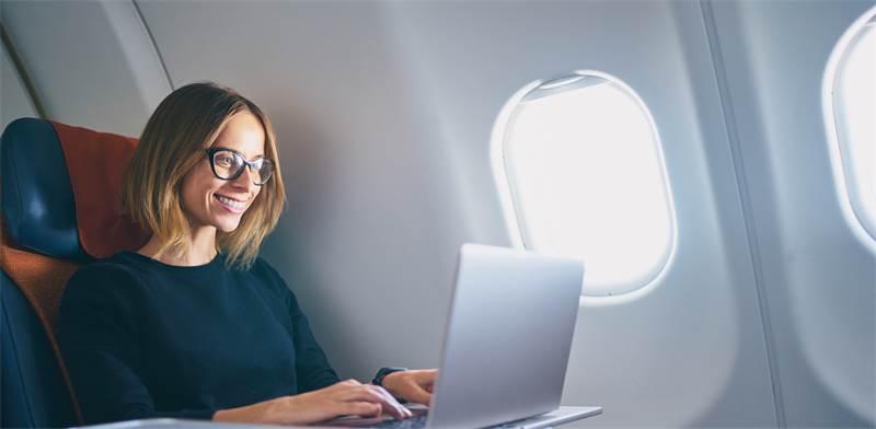 מחלקת עסקים במטוס / צילום: שאטרסטוק