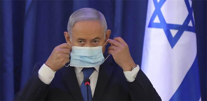 ראש הממשלה בנימין נתניהו. פחות הצהרות בנושא הקורונה / צילום: Abir Sultan, AP