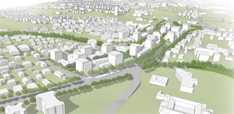 Jerusalem railway station land project  / Imagin: Naama Malis Architects , PR