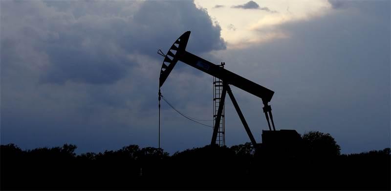 """משאבת נפט באוקלהומה סיטי, ארה""""ב / צילום: Sue Ogrocki, AP"""