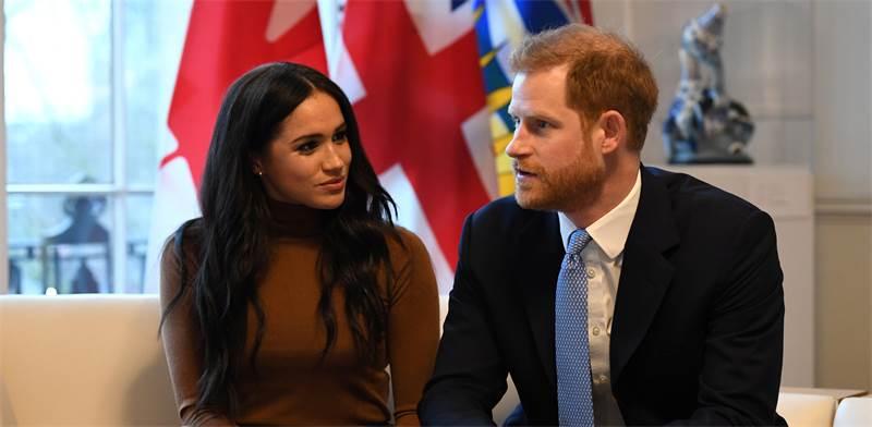 הנסיך הארי ואשתו מייגן מרקל / צילום: רויטרס