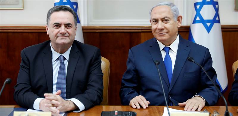 israel Katz and Benjamin Netanyahu / Photo: Abir Sultan Reuters , Reuters