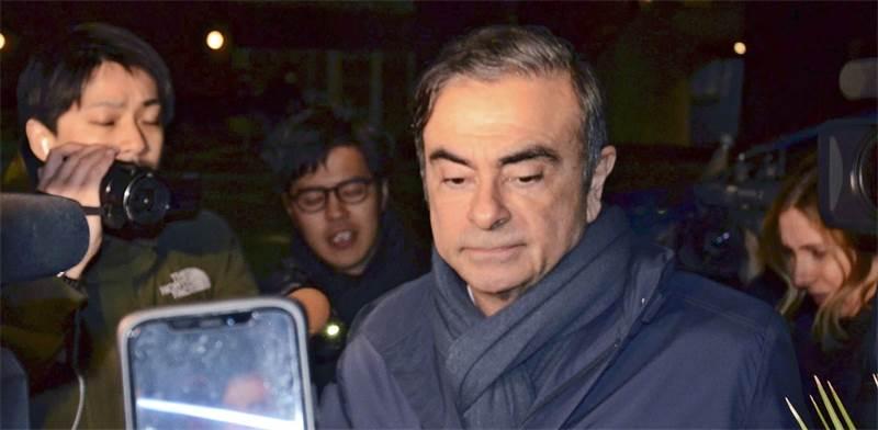"""קרלוס גוהן, יו""""ר ניסאן לשעבר / צילום: Shunpei Takeuchi, רויטרס"""