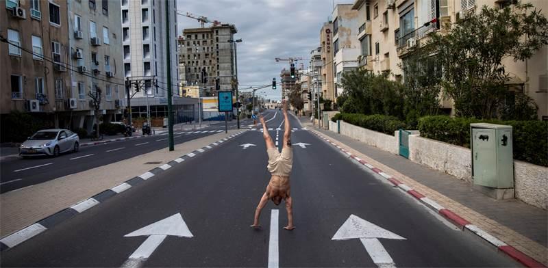 רחוב בתל אביב / צילום: Oded Balilty, Associated Press