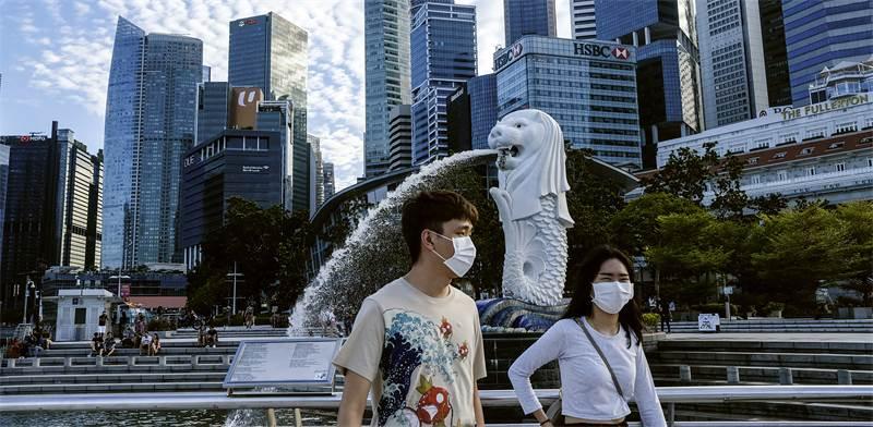 סינגפור בתקופת הקורונה / צילום: AP