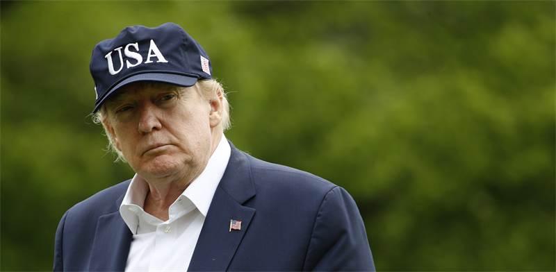 """נשיא ארה""""ב דונלד טראמפ / צילום: Patrick Semansky, AP"""