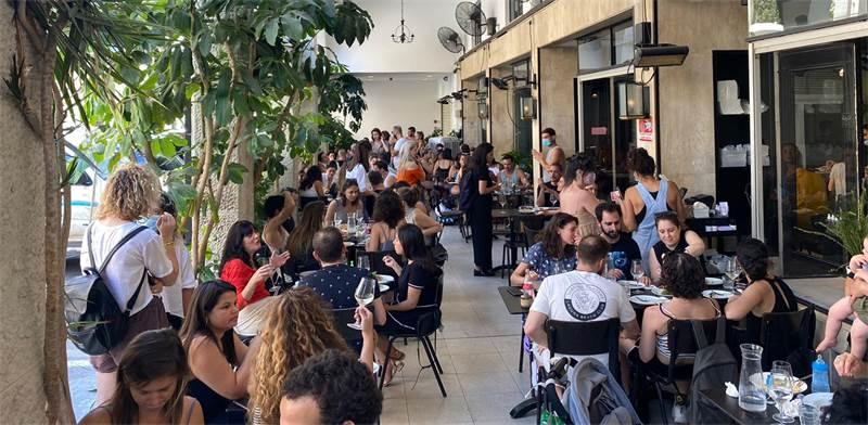 מסעדת סנטה קתרינה בתל אביב  / צילום: בר לביא, גלובס