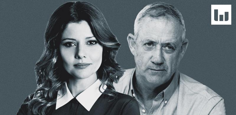 בני גנץ ואורלי לוי-אבקסיס