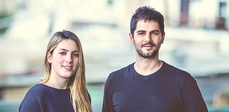 מייסדי סנאפי, דביר כהן וחני גולדשטיין צילום: אלעד מלכה