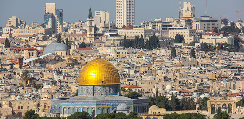 Jerusalem from the east / Photo: Shutterstock, Shutterstock.com
