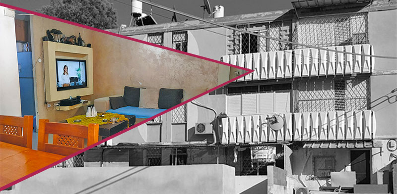 הדירה ברחוב סנהדרין בשכונה ד' / צילום: אורי אוחיון