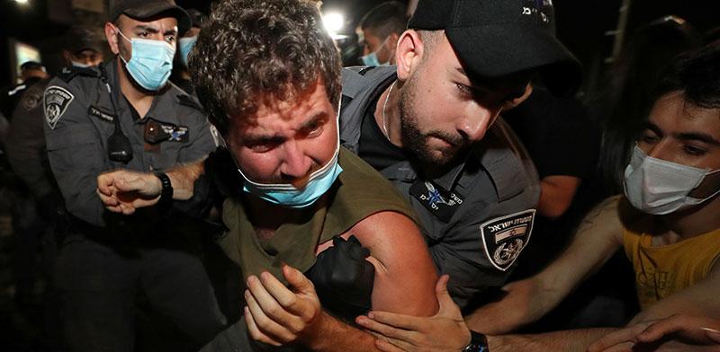 הפגנות בתל אביב. אפקט הבומרנג של נתניהו / צילום: Ammar Awad, רויטרס