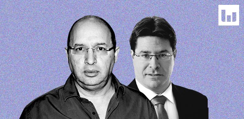 אבי ניסנקורן ואופיר אקוניס / צילום: אלכס קולומויסקי, ידיעות אחרונות