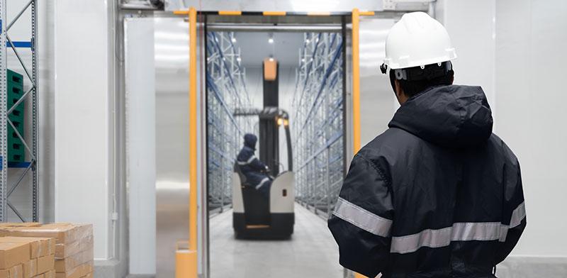 מחסן קירור. יותר אנשים רוצים משלוחים מהירים של מזון טרי   / צילום: shutterstock, שאטרסטוק