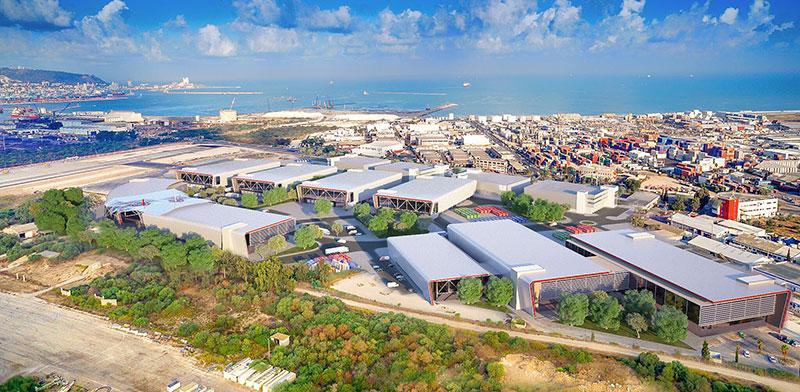 """גב ים מפרץ חיפה (אדמירליטי) / צילום: יח""""צ"""