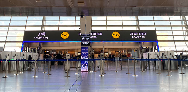 Ben Gurion Airport  / Photo: Michal Raz-Chaimovitz, Globes