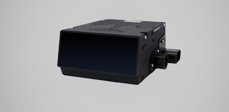 """גלאי חישה מבוסס לייזר (LIDAR) לכלי רכב של חברת אינוויז / צילום: יח""""צ"""
