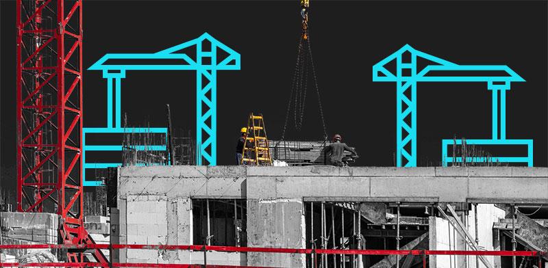"""התחלות בנייה. כתבות הנדל""""ן שעשו את השבוע / עיצוב: טלי בוגדנובסקי , גלובס"""