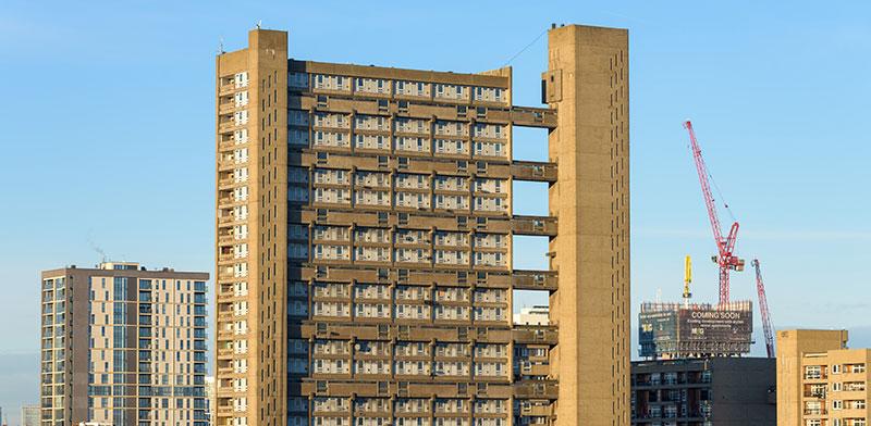 Balfron Tower בלונדון / צילום: shutterstock, שאטרסטוק