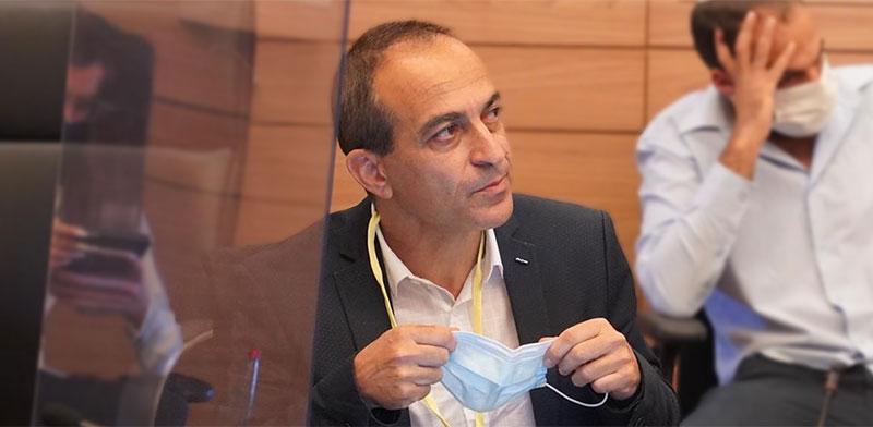 פרופ׳ רוני גמזו בועדת העבודה והרווחה של הכנסת / צילום: שמוליק גרוסמן, דוברות הכנסת