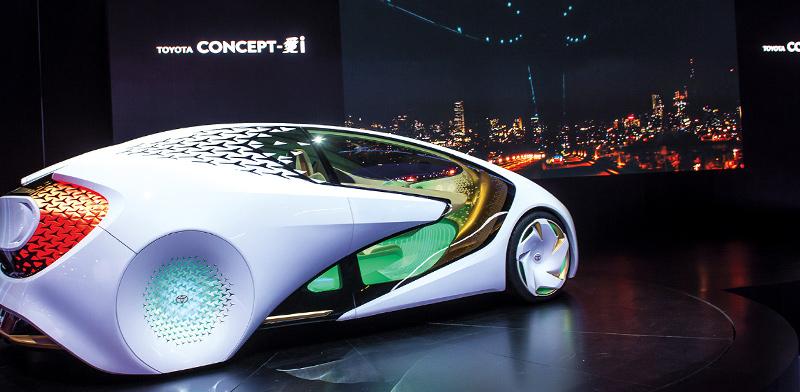 רכב עתידני של חברת טויוטה / צילום: shutterstock