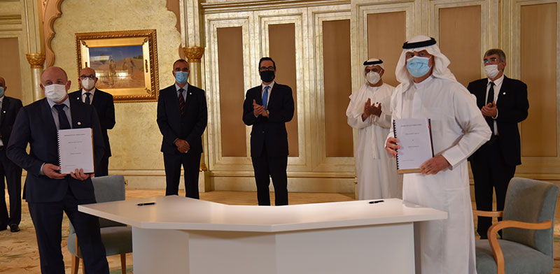 Pipeline signing ceremony in Abu Dhabi / Photo: EAPC