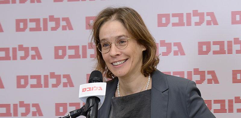 """אלונה בר און, מו""""ל גלובס, ועידת ישראל לנדל""""ן של גלובס / צילום: איל יצהר, גלובס"""