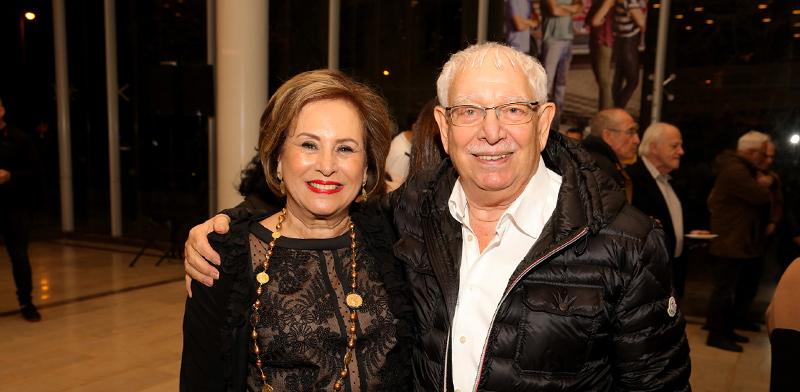 בעז דותן ונאוה ברק־זינגר / צילום: איציק בירן