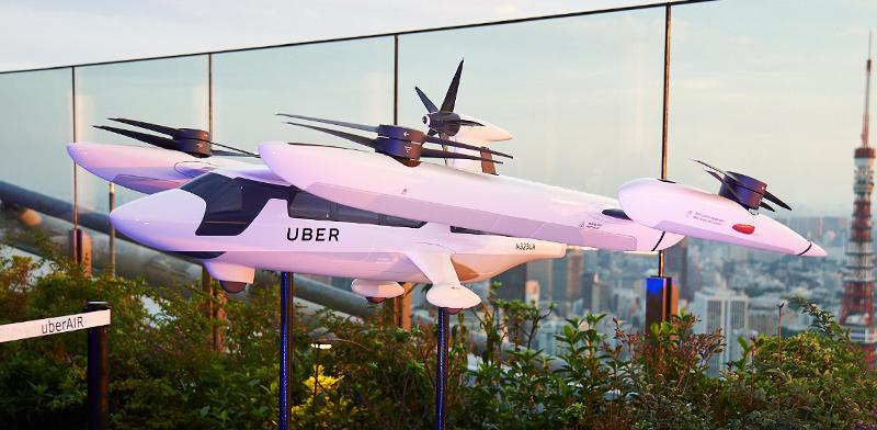 המונית המעופפת Uber Elevate / צילום: uber