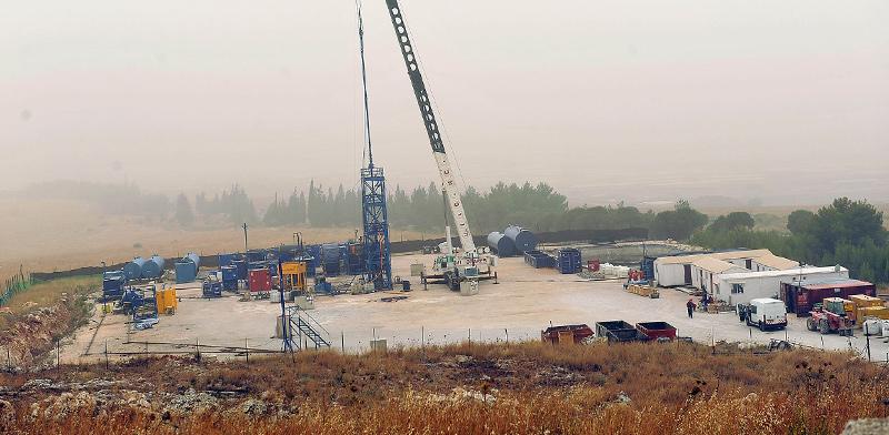 אתר קידוח נפט שדה מגד 5 - גבעות עולם / צילום: תמר מצפי