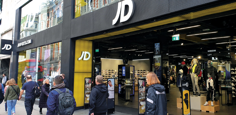 JD Sports  / Photo: Shutterstock, Shutterstock.com