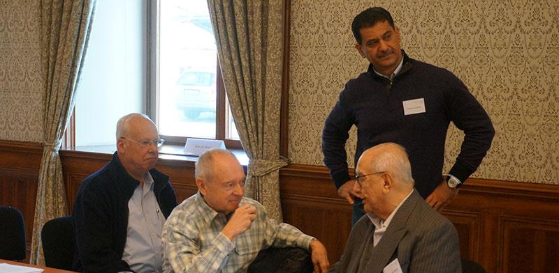 Eytan Epstein, Homer Moyer, Abdelsalam Majali and Essam Al Tamimi / Photo: PR