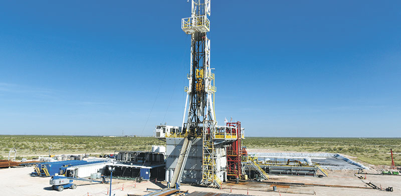 אסדת גז בטקסס / צילום: NICK OXFORD, רויטרס