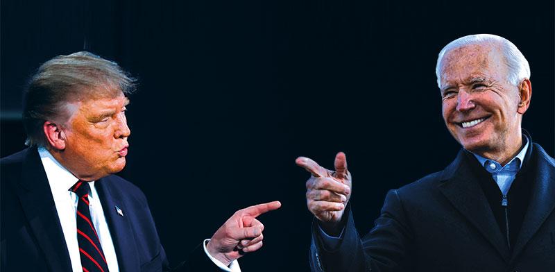 ביידן וטראמפ. שניהם לא מהפכנים כלכלית / צילום: רויטרס