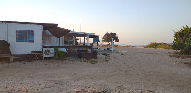 חוף הים של קיבוץ נווה ים  / צילום: גיא נרדי, גלובס