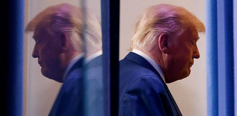 דונלד טראמפ. נשיא מגדף ומקלל אינו יכול לקרוא ברצינות לאחדות השורות / צילום: Carlos Barria, רויטרס